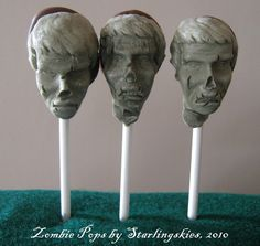 Zombie head chocolates!