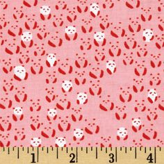 Cotton & Steel Paper Bandana Panda Bebe Pink from @fabricdotcom  Designed by Alexia Abegg for Cotton + Steel, this cotton print fabric is perfect for quilting, apparel and home decor accents. Colors include pink, red-orange and white.