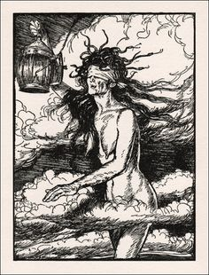 Edmund Joseph Sullivan: Rubaiyat (via Book Graphics)