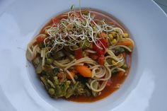Spaghetti, Ethnic Recipes, Food, Vegane Rezepte, Essen, Meals, Yemek, Noodle, Eten