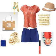 Strolling Miami's Ocean Drive, created by charlsie1108.polyvore.com