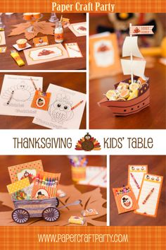 Thanksgiving Kids' Table at Etsy https://www.etsy.com/listing/168827743/thanksgiving-kids-table-diy-printable?ref=shop_home_feat