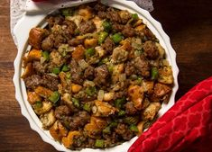 Consider a stuffing that's happy to play a supporting role: our Original Holiday Stuffing. A classic in every sense of the word, this perfect side dish features Johnsonville Original Bratwurst. Thanksgiving Side Dishes, Thanksgiving Recipes, Holiday Recipes, Thanksgiving Stuffing, Thanksgiving 2017, Holiday Snacks, Southern Mac And Cheese, Whole Wheat Pizza, Smoking Recipes