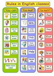 posters for preschool classrooms | classroom rules poster after ...