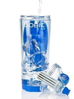 Gobie H2O BPA Free Filtered Water Bottle, 22 Ounce by Gobie H2O. $24.76. The plastic waste we dispose of is being broken down in our oceans and eaten by fish, which are then consumed by us...if they survive. We wonder why cancer and other diseases are so prevalent? The main reason for this problem is the single-use consumer philosophy of purchasing products thats being sold to us by major corporations(Last year american consumers spent 17 billion dollars on sing...