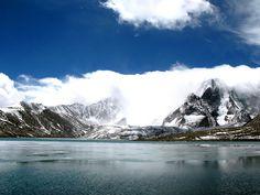 Gurudongmar Lake, North Sikkim, India