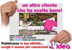 grafica da noi realizzata per Agriturismo San Francesco -Rossano- CS