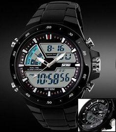 Skmei Men Sports Watches Waterproof Fashion Casual Quartz-Watch Digital S Shock Military Sports Men's Watches