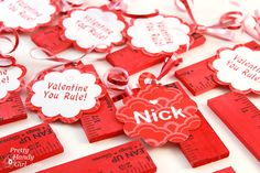 Candy-Free Valentines that the kids will still LOVE #valentinesday | Pretty Handy Girl