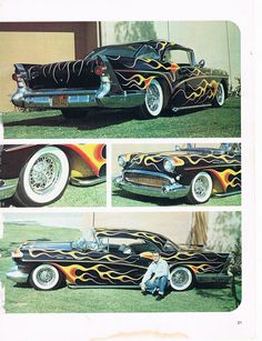 Click this image to show the full-size version. Buick Cars, Drag Cars, Car Painting, Kustom, Custom Paint, Custom Cars, Making Ideas, Hot Rods, Classic Cars