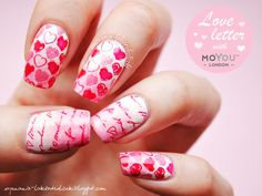 Wyznania lakieroholiczki - valentine #nail #nails #nailart