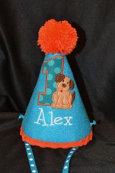 Puppy Dog Boy 1st Birthday Birthday Party by sunshinedaydream4u, $25.95
