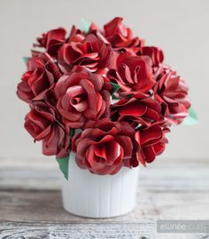 DIY Paper Rose Kit for Valentine's Day {limited quantity}