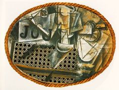 Synthetic Cubism Period by Georges Braque & Pablo Picasso (Summary) Picasso Collage, Art Du Collage, Collage Artists, Collages, Digital Collage, Max Ernst, Georges Braque, Kandinsky, Picasso Still Life