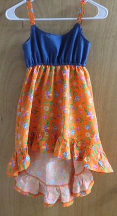 Gypsy Summer Dress girls size 6 by SewMeems on Etsy
