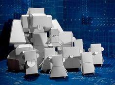 Paper toys en blanco | Descargables Gratis para Imprimir: