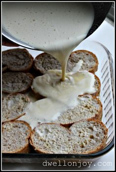 Baked French Toast - I'll be making this Easter week-end.  My son loves this recipe.