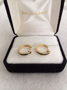 Lovely 14K 585 Fine Gold Sapphire Baguette by TrendsCouture