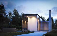 Arch-viz - Making of House Roces - Mouton Burger. Created using Cinema 4D & VRayforC4D.