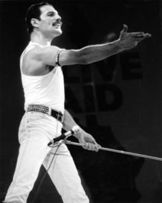 With input from members of Queen, Freddie Mercury biopic 'Bohemian Rhapsody' meticulously replicated the band's performance at Live Aid in Brian May, John Deacon, Queen Lead Singer, Live Aid, Roger Taylor, We Will Rock You, Queen Freddie Mercury, Queen Band, Killer Queen