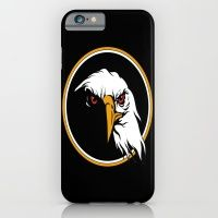 iPhone & iPod Case featuring Eagles fly high on by Eduardo Doreni