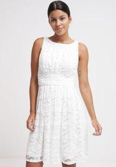 Ein Kleid, das Look und Komfort kombiniert. Swing Cocktailkleid / festliches Kleid - cremewhite/cremewhite für 98,95 € (14.02.16) versandkostenfrei bei Zalando bestellen.