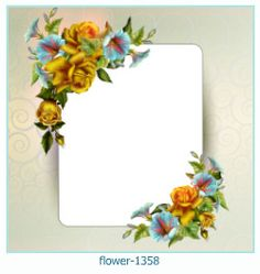 flower Photo frame 1358