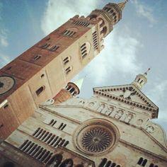 Il Torrazzo e il Duomo.