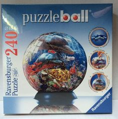 Ravensburger historical world map 3 d jigsaw puzzle ball globe 540 ravensburger ocean world dolphins 3 d jigsaw puzzle ball 240 pieces new sealed gumiabroncs Choice Image