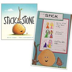Stick and Stone is a great book about friendship. Do your students stick with their friends?