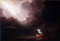 The Voyage of Life: Old Age - Thomas Cole