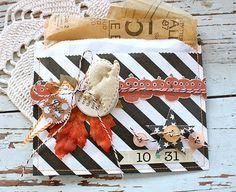 paper sack treat pocket by Michelle Wooderson