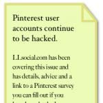 Mysterious cause of Pinterest user hacks remains unknown. Pinterest now locking accounts.