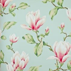 Wall Treatments, Magnolia, Printing On Fabric, Scrapbook, Prints, Color, Fabrics, Interior Ideas, Bedrooms