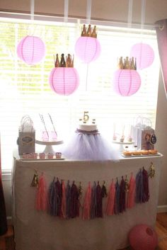 Budget Sofia the First birthday party! See more party ideas at CatchMyParty.com!