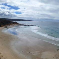 I  the weekend  #greatoceanroad #seegor #sunnymead #beach #aireysinlet #anglesea #ocean #waves #victoria #australia #summer #love #weekend by jenna3230 http://ift.tt/1KosRIg