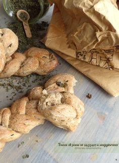 Trecce di pane capperi maggiorana