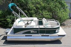 NEW 14 FT TAHOE/AVALON PONTOON BOAT WITH MOTOR