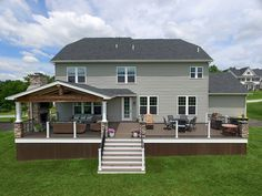 View our Keystone Custom Decks project gallery for inspiration for your dream outdoor living space. Outdoor Rooms, Outdoor Living, Outdoor Patios, Outdoor Kitchens, Backyard Renovations, Backyard Patio Designs, Patio Ideas, Diy Patio, Backyard Pavilion