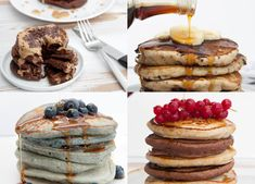 If you're looking for dairy and egg-free pancakes, that taste amazing and are the best and fluffiest vegan pancakes you've ever had, then you've come to the right place. All of these vegan pancake recipes are made without any weird egg replacers. All natural!Easy to make! Delicious!