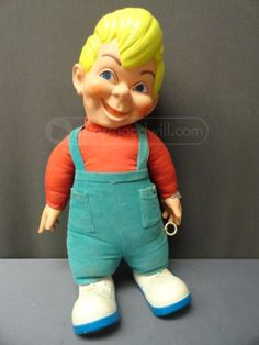 """""""Beany"""" puppet from Beany and Cecil TV show 1960s....watched a lot of this show!!!"""