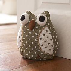 Oliver Owl Doorstop
