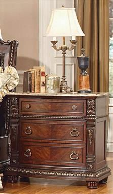 Homelegance Palace Night Stand Nightstand, Rich Brown - Home Furniture Showroom Furniture Showroom, Furniture Design, Bedroom Furniture, Bedroom Decor, Bachelors Chest, Lowes Home, 3 Drawer Nightstand, French Country House, Wood Bridge
