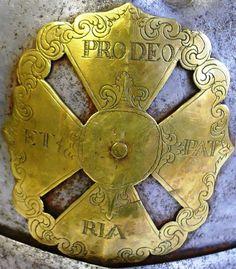 Krzyż z napierśnika husarskiego-Litwa Muz.Witolda