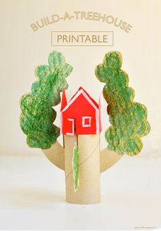 DIY  Build-a-treehouse  Free Printable