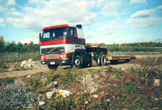 Volvo Truck Suominen Helsinki Finland..