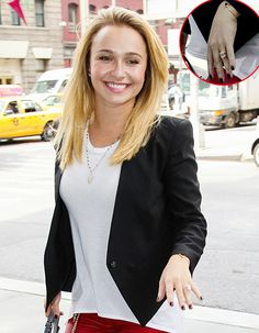 Hayden Panettiere shows off her big engagement ring!