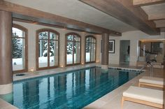 Chalet Shemshal, Finalist in the 'World Ski Awards' as 'France's Best Ski Chalet 2014' Courchevel 1850, France http://www.leotrippi.com/en/winter/p_1326/france/courchevel/luxury-ski-shemshak-lodge-1850-for-rent.html