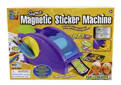 Afbeelding van Super Magnetic Sticker Machine from DreamLand