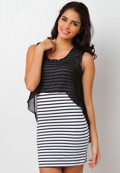 http://www.zalora.com.ph/Collective.Com-Sabella-Striped-Chiffon-overlay-dress-108944.html